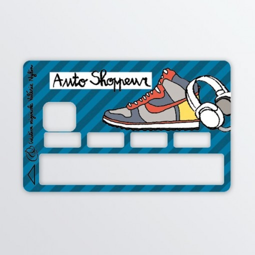 sticker carte bleue